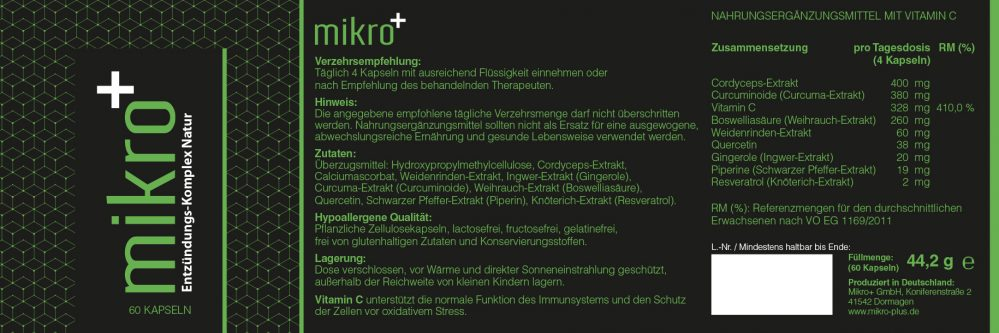 mikro+ Entzündungs-Komplex Natur