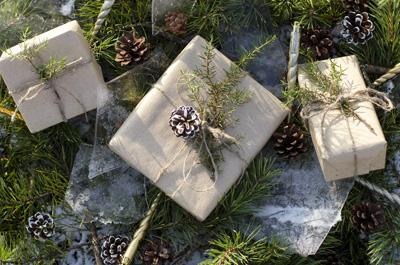 mikro+ nachhaltig Geschenke verpacken